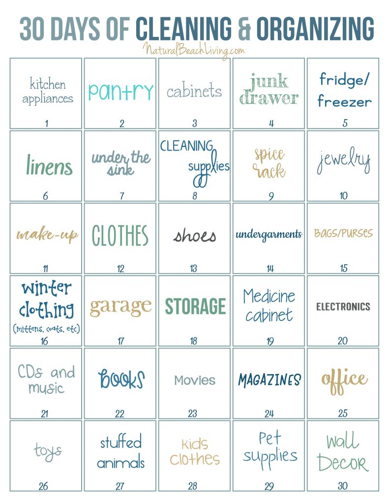 Get Organized with these Tips and Ideas for decluttering that Work, organize Reading Nooks, Mindful spaces, Kitchen organization, cleaning and organizing Printables, Cleaning Challenge and Checklist #cleaning #organization