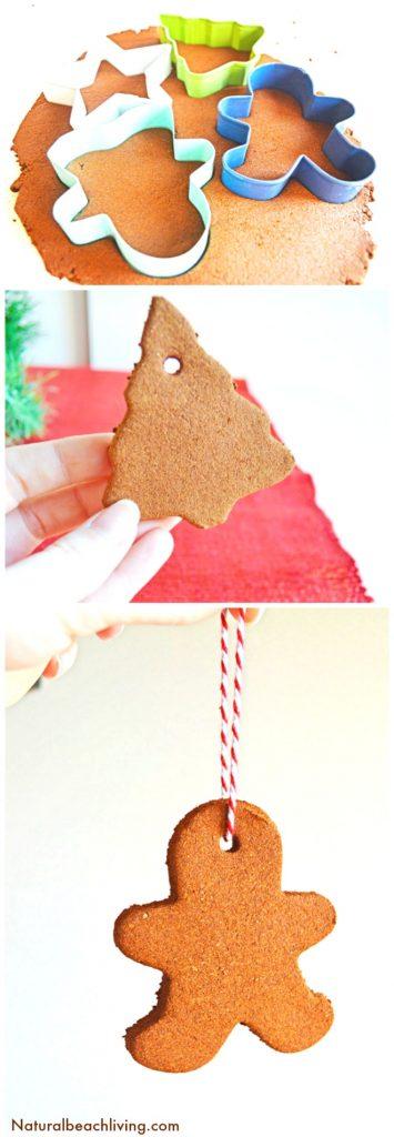 The Best Applesauce Cinnamon Ornaments Kids Love to Make, Easy Cinnamon Ornaments, Kid Made Ornaments, Christmas Ornaments Craft, Christmas Craft for Kids, Cinnamon Dough, #cinnamonornament #Christmasornaments #kidmade #Christmascrafts #cinnamonsensory