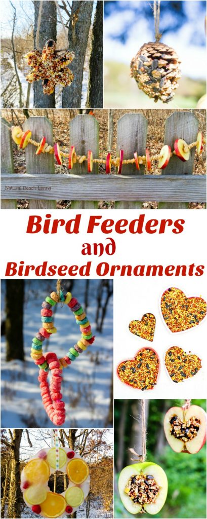 The Ultimate List of Homemade Bird Feeders and Birdseed Ornaments, Easy Homemade Bird Seed Ornaments Recipe, These DIY Birdseed Ornaments are a perfect nature project to do with kids, bird seed ornaments with gelatin, Backyard Birds love Homemade Bird Seed Ornaments, how to make edible bird seed ornaments, Bird Craft, Bird Treat Craft, Cookie Cutter Bird Seed Ornament, #Bird #birdfeeder #birdseedornaments #natureactivities