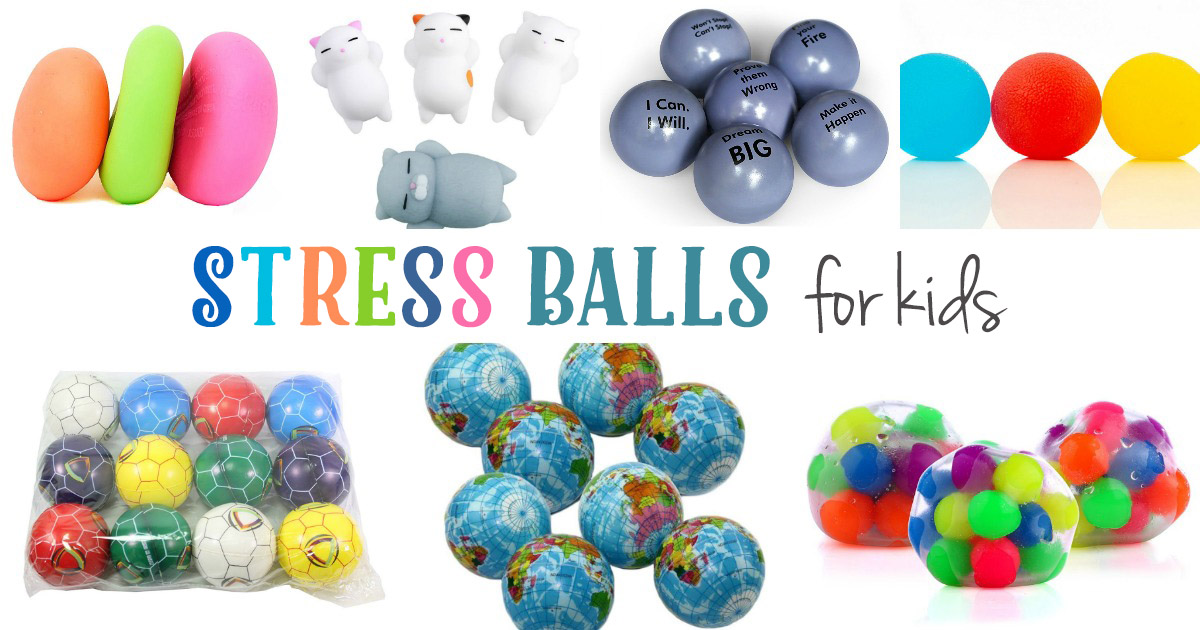 the best stress balls for kids and adults natural beach living. Black Bedroom Furniture Sets. Home Design Ideas