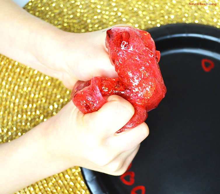 The Best Valentine's Day Slime Recipe, Easy Slime with Contact Solution, Slime Recipe with glue, Slime recipe without Borax, Best Slime Recipe, Homemade Slime, Holiday Slime, Slime Recipes, Sensory Play, Slime Videos, Valentine's Day Activities, Non Candy Valentine's, #Valentinesday #Slime #slimerecipe #slimerecipes #sensoryplay