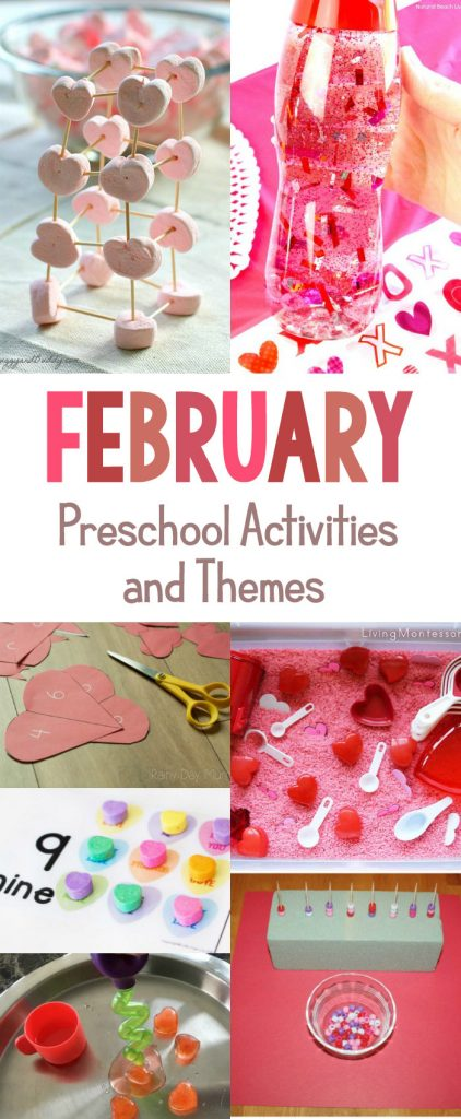 30 february preschool activities and themes for preschool for Preschool crafts for february