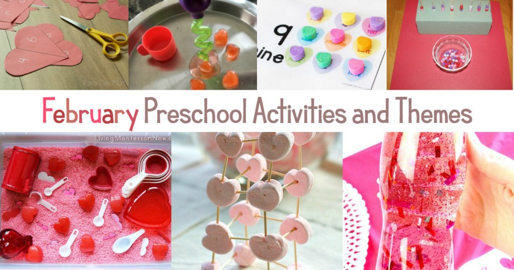 february preschool activities and february preschool themes your kids will love