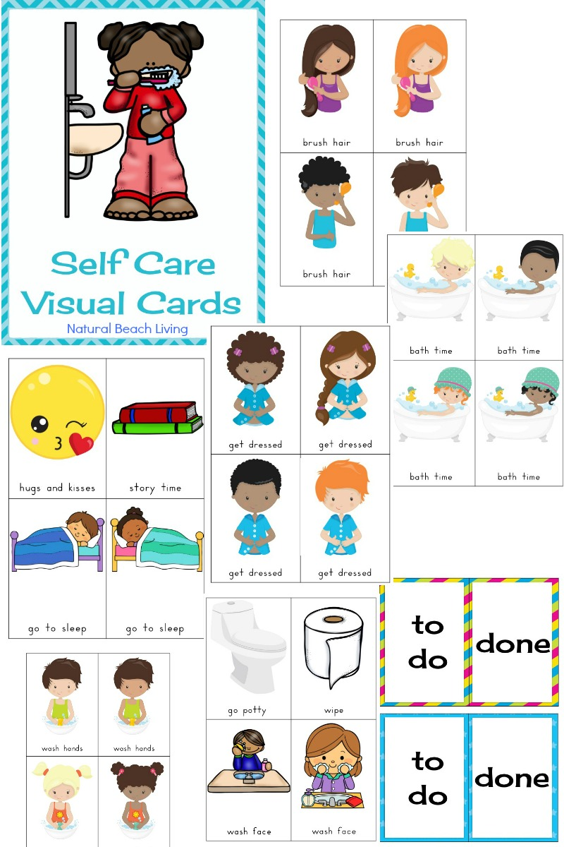 Self Care Routine Daily Visual Cards, HELP YOUR CHILD GAIN CONFIDENCE AND INDEPENDENCE WITH SELF CARE ROUTINE VISUAL CARDS, Daily Visual Schedule, Routine Visual Schedule, Bathroom Visual Cards, Autism, Dressing Cards and Labels, Picture Cards for Kids