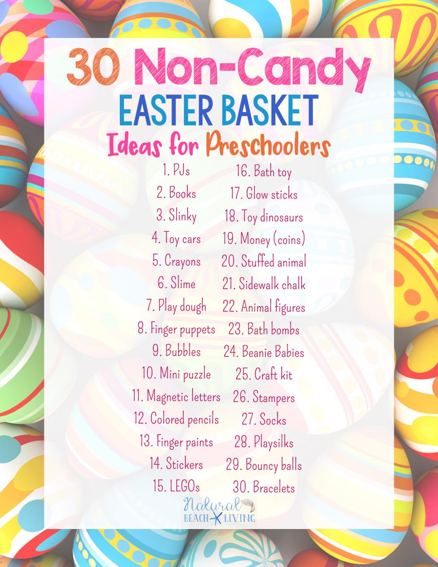 30 perfect non candy easter basket ideas for preschoolers 30 perfect non candy easter basket ideas for preschoolers natural beach living negle Gallery
