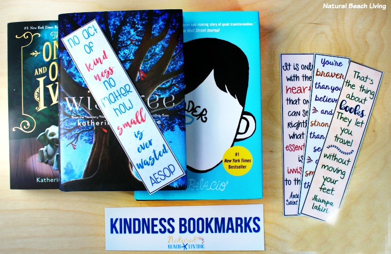 Kindness Bookmarks, Acts of Kindness Printable Bookmarks, Free Printables