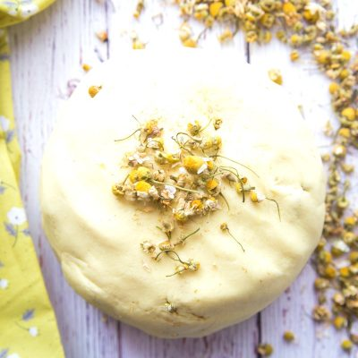 Natural Chamomile Playdough Recipe – Perfect No Cook Calming Play dough