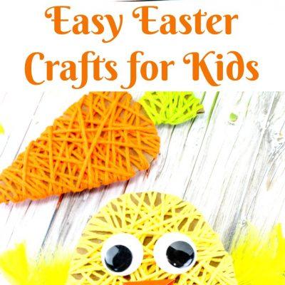 Easy Easter Crafts for Kids – Adorable Easter Yarn Crafts for Kids
