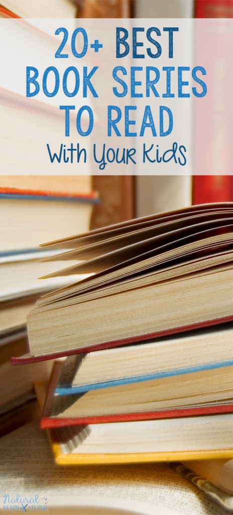 20 Best Book Series for the Whole Family to Enjoy, FamilyBook Series is a perfect way to enjoy read-alouds together or start a book club for moms and kids. 20 Best Book Series for Kids, Best Family Book Series, Best Family Read Alouds, Harry Potter, Chronicles of Narnia, The Penderwick's, Best Chapter books for Kids