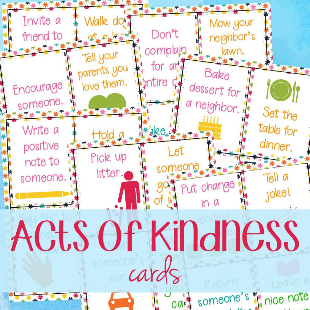 Random acts of kindness ideas and random acts of kindness examples