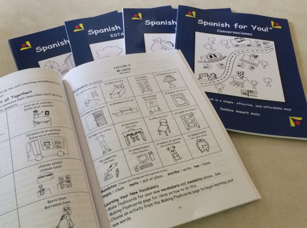 Spanish for You - Simple Effective Affordable Homeschool Curriculum, Easy Spanish curriculum, Spanish curriculum for middle school, Spanish curriculum homeschool, Spanish games and activities for Kids