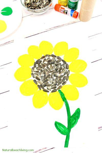 Easy Sunflower Art for Kids – Sunflower Craft Ideas