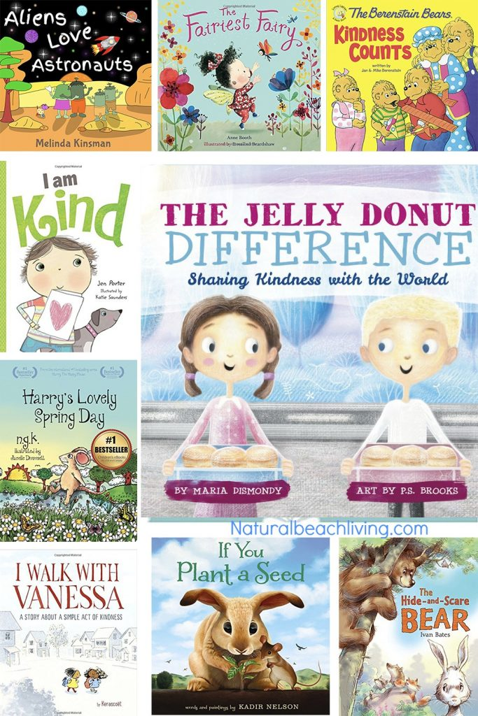 20 Books for Kids about Kindness, Kindness Books, Encourage Kindness with these wonderful children's books. Children's books about being nice to others, Teach your kids about being kind to others, Random acts of kindness ideas, Kindness can be taught and learned like any other life skill. Great Books like these provide children with models of kindness, children's books about being kind to friends