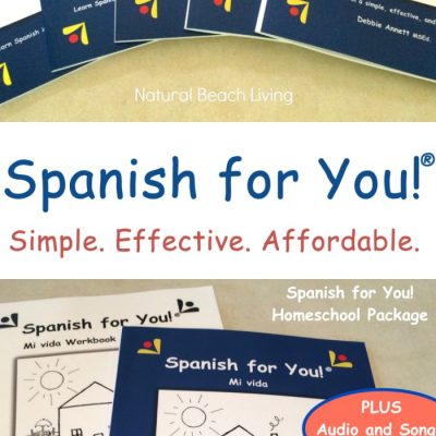 Spanish for You – Simple Effective Affordable Spanish Homeschool Curriculum