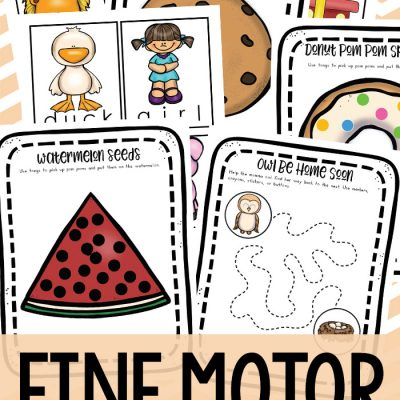 13+ Fine Motor Activities – Fine Motor Skills Early Learning Activities