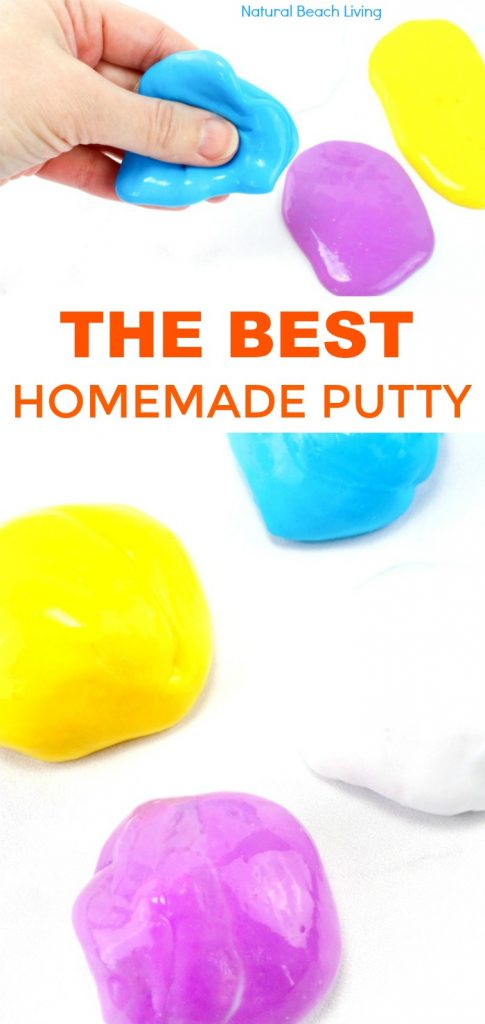 How to Make Putty, How to Make Thinking Putty , Putty Recipe, Homemade Putty, Thinking Putty Recipe, Therapy Putty Recipe, DIY Thinking Putty, DIY Putty, How to Make Thinking Putty, The Best Stress Putty Recipe, perfect sensory play, therapy putty for special needs, autism, and working fine motor skills, Best Sensory Putty, Therapy play for kids, Stress Putty Recipe, Stress Relieving Putty, fidget