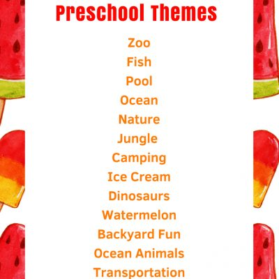 June Preschool Themes with Lesson Plans and Activities