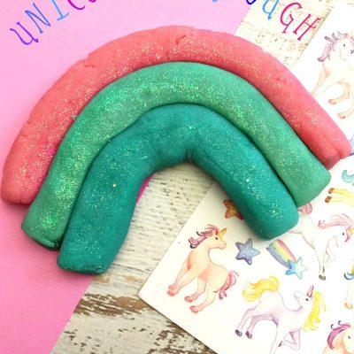 The Best Unicorn Playdough Recipe