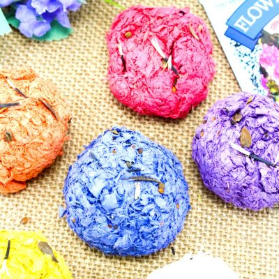 How to Make Seed Bombs – Easy Kid Made Seed Bombs Recipe