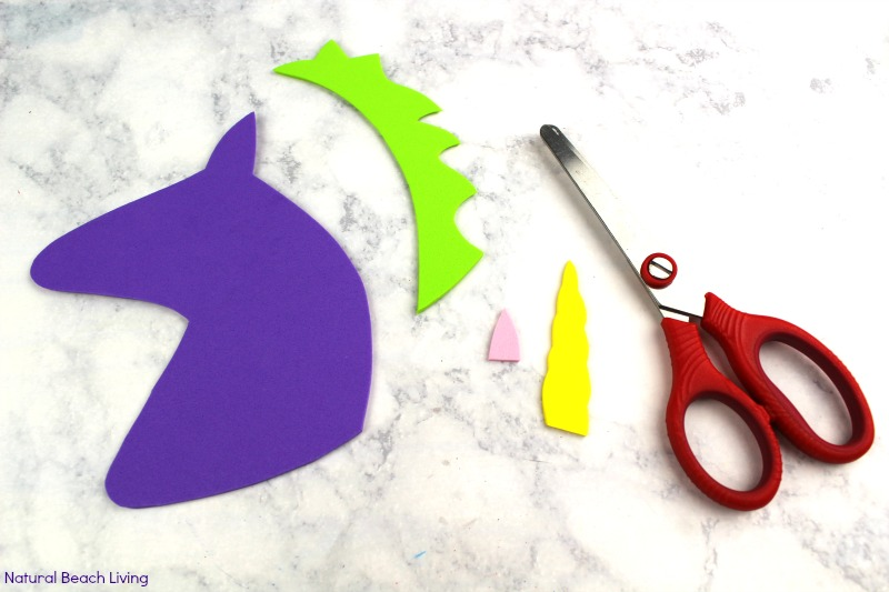 Letter U Craft for Unicorn Preschool Activity with free templates, Alphabet crafts are fun easy and educational, Whether you are looking for Unicorn crafts, a Unicorn Preschool Theme or letter of the week preschool craft u is for Unicorn Your children will love this letter craft with letter u printables