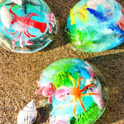 Ocean Sensory Activities – Easy Ocean Themed Sensory Play