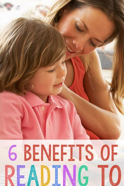 6 Benefits of Reading to Children