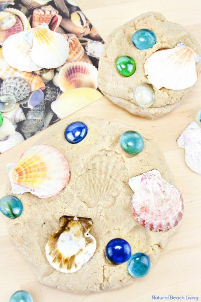 Sand Playdough Recipe – Easy Beach Themed Sensory Play