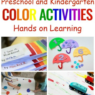 25+ Color Learning Activities for Preschool