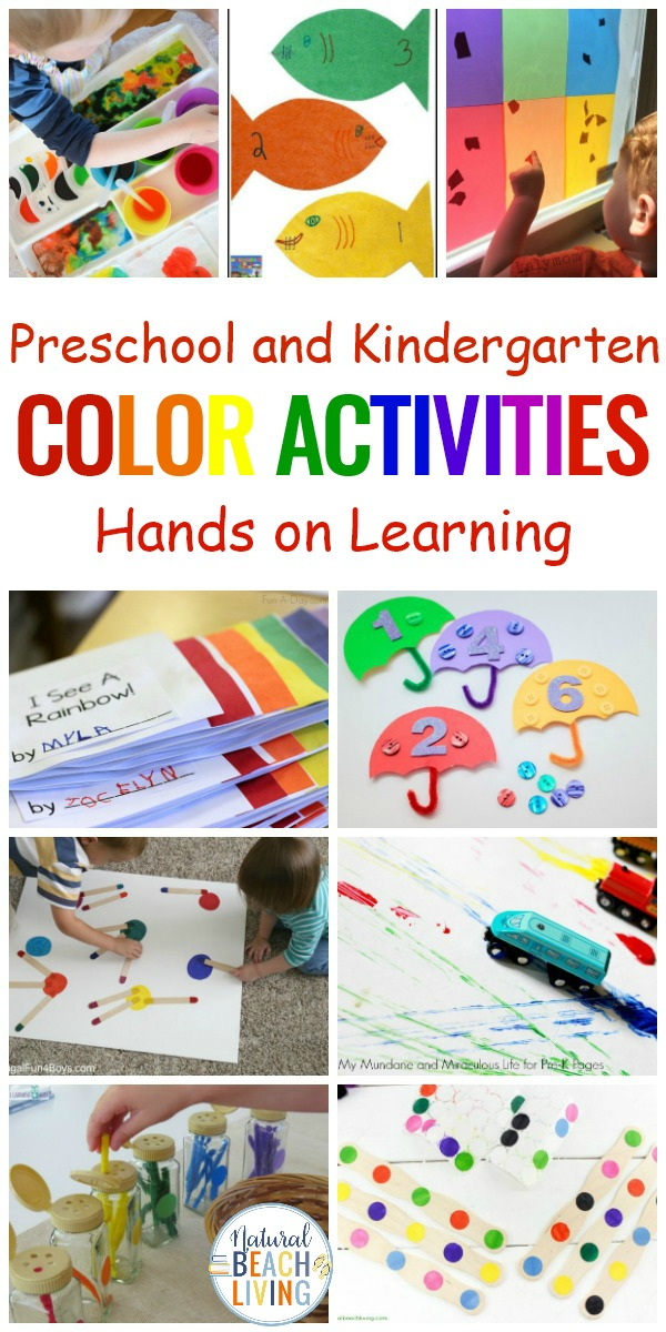 hands on learning activities for preschoolers 25 color learning activities for preschool 188