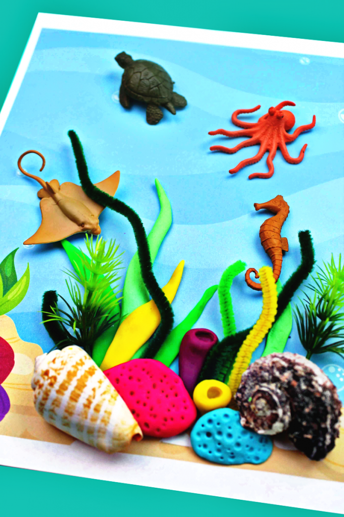 Coral Reef Activities for Preschoolers and Kindergarten - Natural ...