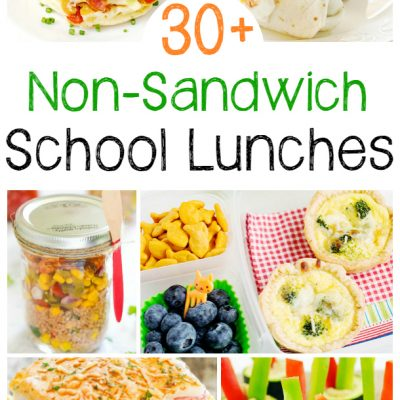 30+ Non Sandwich Lunch Ideas for Kids and Adults