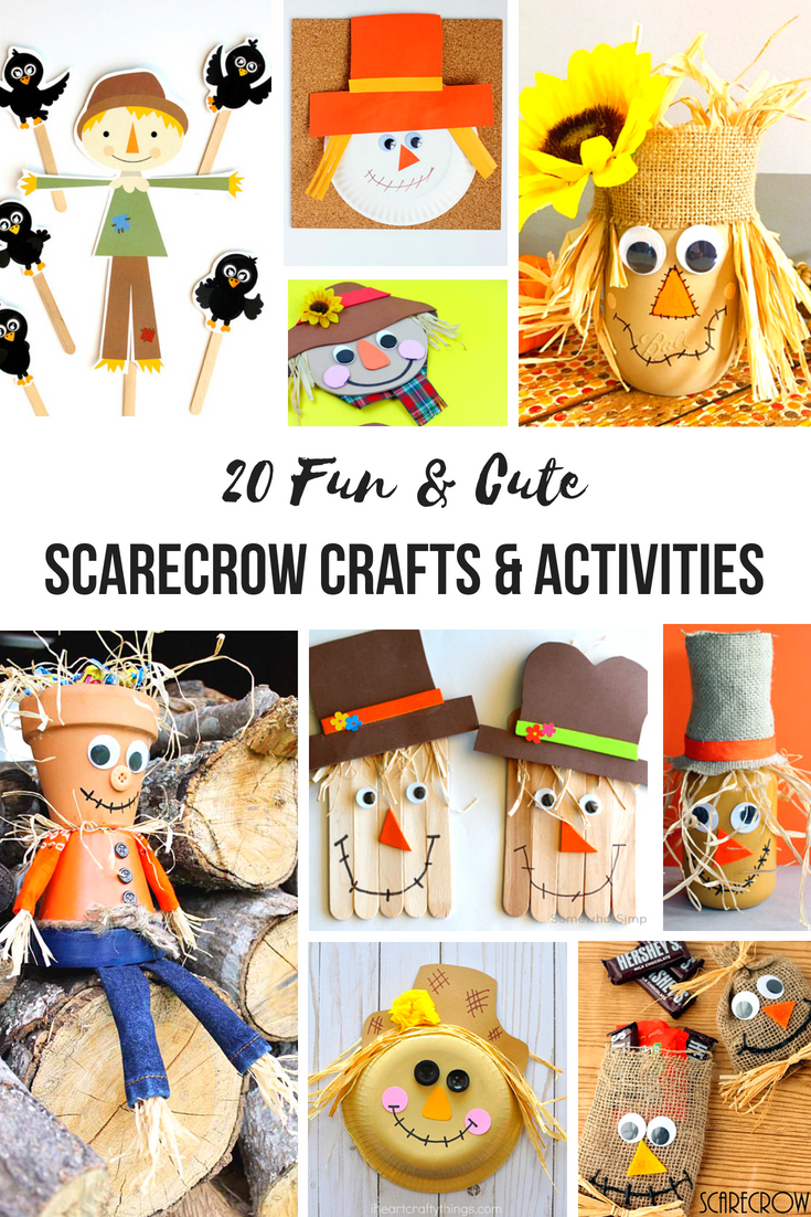 20+ Scarecrow Crafts and Activities for Kids, Scarecrow Crafts and Activities are the perfect way to start off your fall season. These scarecrow theme ideas are easy enough for your preschoolersand just as enjoyable for adults. Add Scarecrow activities to your lesson plans about the fall or harvest season.