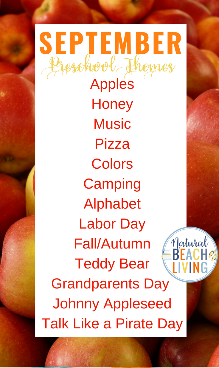 20+ September Preschool Themes with Lesson Plans and ...