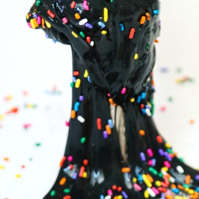 How to Make Black Slime – Birthday Party Jiggly Slime Recipe