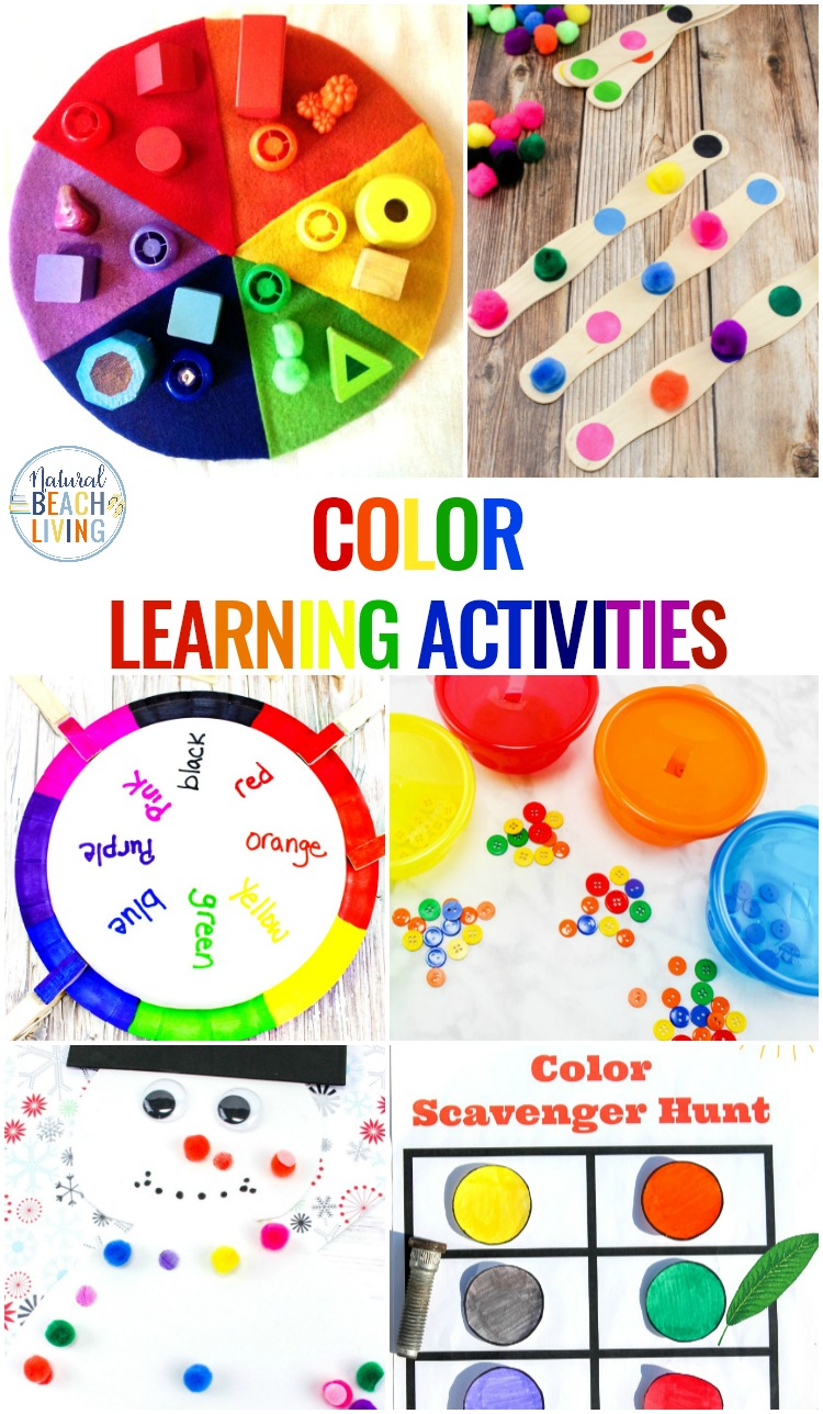 Color Activities For Toddlers Preschool And Kindergarten