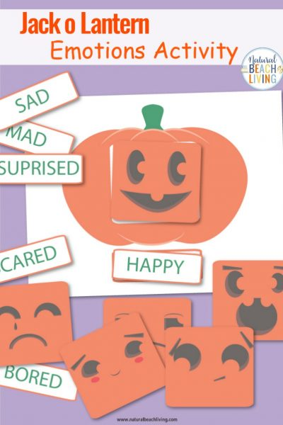Emotions Activities Preschool Pumpkin Theme Printables