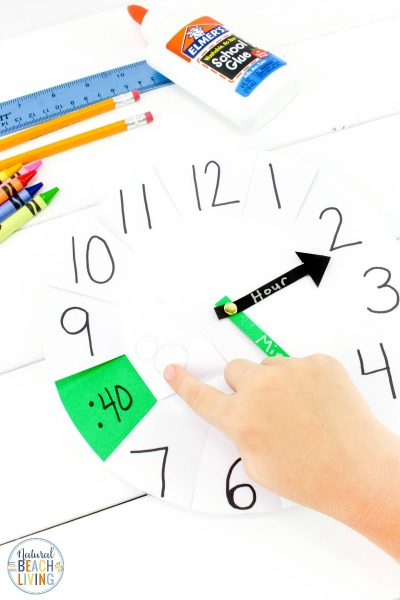 How to Teach Telling Time – DIY Paper Clock Activity